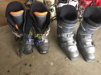 Pair of black snowboard boots Surrey, V3Z 1E3