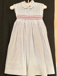 Girl dress. Made in Spain 100% coton. Size 4. Miami, 33155