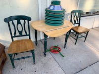 Drop Leaf Table w/ 2 Matching Chairs Baltimore, 21205