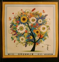 Blooming Tree Cross Stitching Kit Toronto, M4A