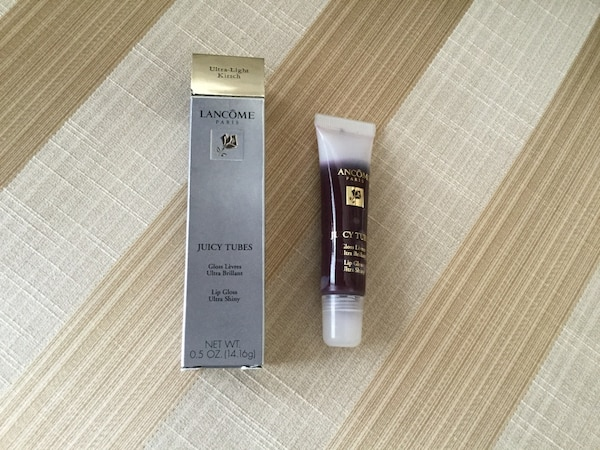 Used Brand New Lancôme Juicy Tubes Ultra Light Kirsch For Sale In
