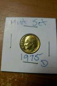 round gold-colored coin Bronx, 10461