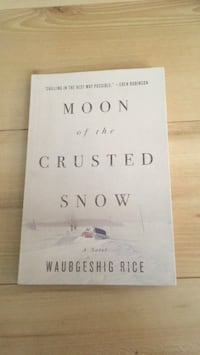 Moon of the crusted snow - book in great condition Montréal, H2X 2R6