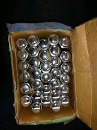 FORD--Chrome acorn lug nuts extra long