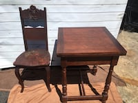 brown wooden table with chairs Alexandria, 22306