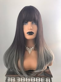 Very Pretty Wig with Bangs for Everyday Calgary, T2P