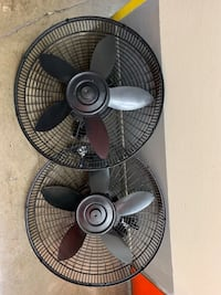 Oscillating fans. Work perfectly. No stands  La Habra, 90631