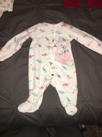NB baby girl jumpsuit
