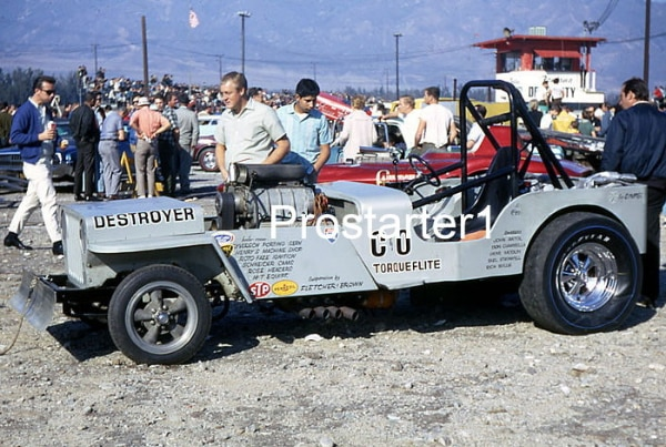 Used 4x6 Color Drag Racing Photo C&O DESTROYER Jeep Funny Car 1967 Gene Conway for sale in Smyrna - letgo