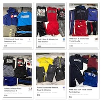 Boys clothing various brands and sizes please just ask Bethlehem