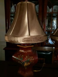 Set of 2 table lamps. $30 each. Germantown, 20874