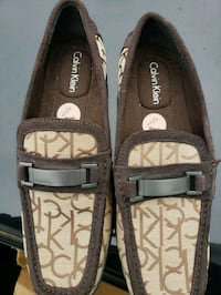 pair of brown Coach leather loafers Winchester, 40391