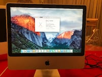 """20"""" iMac 2007 OSX 10.11.6 MS Office 2016 250GB Hard Drive RAM upgraded to 4GB Somers, 10589"""