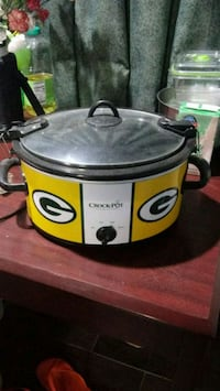 Green bay packers black and yellow slow cooker Rogers, 72758