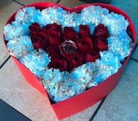 Valentines touch of love