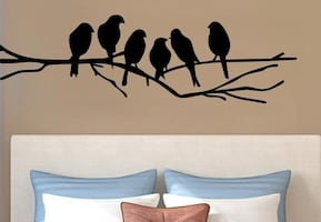Brand New - Birds on Branches Wall Decal