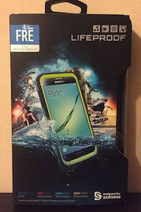 New LifeProof Fre Case - Samsung Galaxy S7 - Banzai Blue/Lime Prattville, 36067