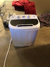 Portable washer/spinner