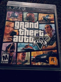 Grand Theft Auto Five PS4 game case Bakersfield, 93307