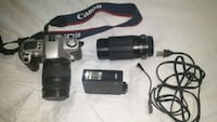 black and gray Canon DSLR camera set London, N6G 5P9