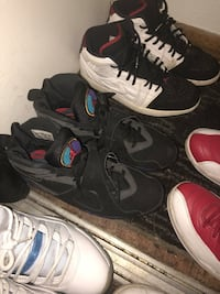 Selling all of these shoes . Need these gone by this week . Prices aren't up because they are all negotiable just offer . Plymouth, 55446