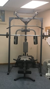 Used powerhouse elite smith machine, no weights, bench is included. Must pick up Milmay NJ 08340 Milmay, 08340