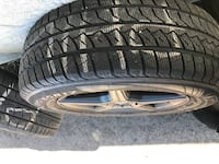 Range Rover rims and tires ( multi fit 5x108, 114.3 ) Toronto, M1X 2A8