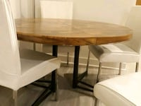 Beautiful wood round dining table with 4 chairs  Rockville, 20850