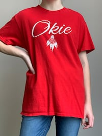 Red Oklahoma t shirt (Size M)