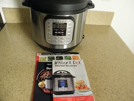 NEW Instant Pot DUO60 6 Qt 7-in-1 Multi-Use Programmable Pressure Cook
