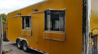 8.5 x 24 New TA YELLOW ENCLOSED FOOD TRAILER  Another $22,030 for Equipment