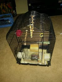Small parrot cage/extras Hampton, 23663