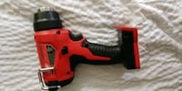 red and black Milwaukee cordless power drill San Clemente, 92672