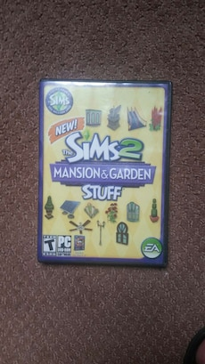 New The Sims 2 Mansion and Garden PC