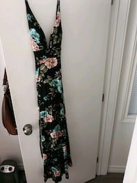 Never been worn floral maxi