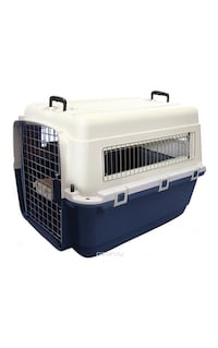white and blue pet carrier New York, 11363
