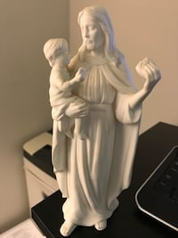"""Lenox collectible porcelain figure (9"""" h) Jesus the Provider. Sterling, 20166"""