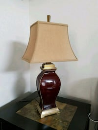 Bombay Bay high quality table lamp.  Richmond Hill, L4E 2W2