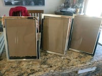 Silver 5x7 picture frames