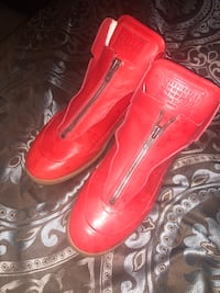 pair of red leather boots New Windsor, 12553