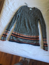 Gray and brown  sweater New Paltz, 12561