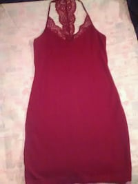 Express medium wine colored sexy dress Cincinnati, 45226