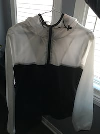 white and black zip-up jacket Whitby, L1R 3N1