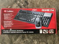 Labtec wireless  keyboard and mouse for Desktop Ashburn, 20148