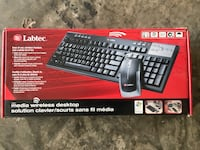 Labtec wireless  keyboard and mouse for Desktop