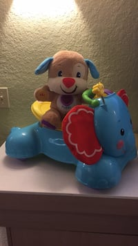 blue and white Fisher Price learning toy Kissimmee, 34746