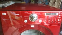 red and white front-load washing machine Bowie, 20716