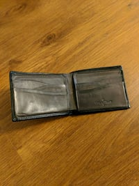 Cole Haan Black leather wallet Sacramento, 95816
