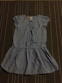 Blue dress, size 10. Edmonton, T6W 3N6