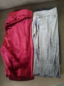 Velvet leggings size medium 2 for 8